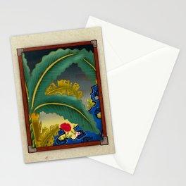 Minhwa: Plantain Garden at Night (Korean traditional/folk art) Stationery Cards