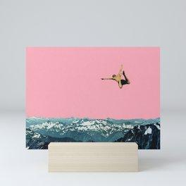 Higher Than Mountains Mini Art Print