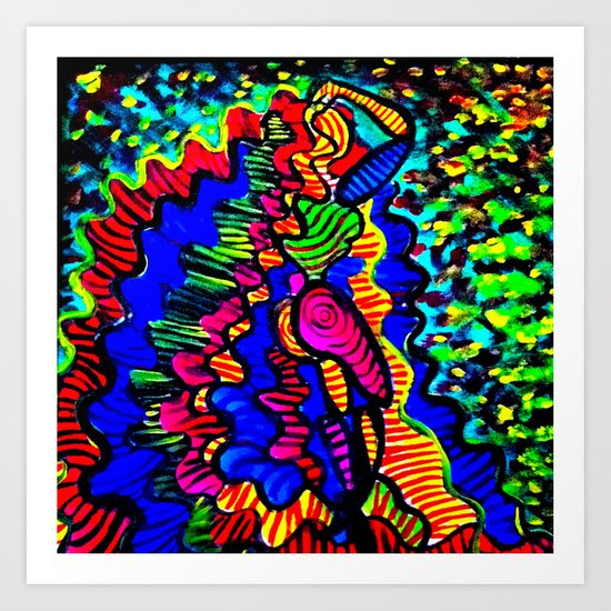 Repunzel Art Print
