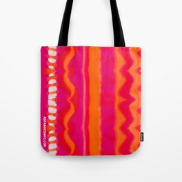 Montpellier Hand-painted Silk Tote Bag
