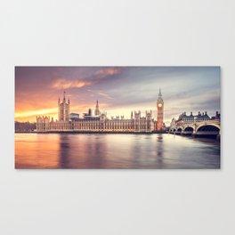 LONDON CITY BIG BEN XV Canvas Print