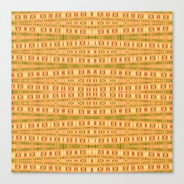 Aboriginal Dreamtime Art Stripes Canvas Print