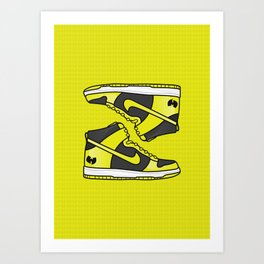 Wu Tang Dunks Art Print