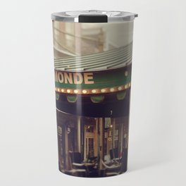 Foggy Cafe Du Monde Travel Mug