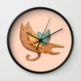 The Cat's Mother Wall Clock