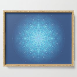 Enigma. Sacred geometry Serving Tray