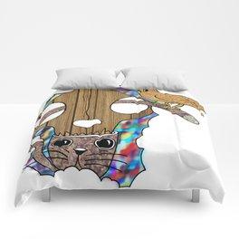 Trippin' on Catnip Comforters