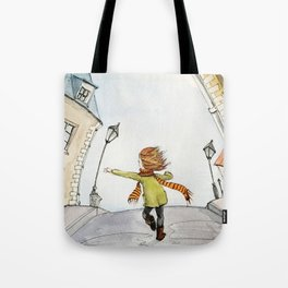 Run Tote Bag