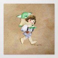 Not a backpack Canvas Print