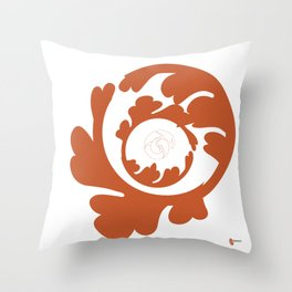 Cinnamon: direct your energies Throw Pillow