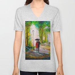 Walk in the Park Unisex V-Neck