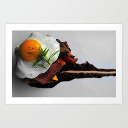 steak Art Print