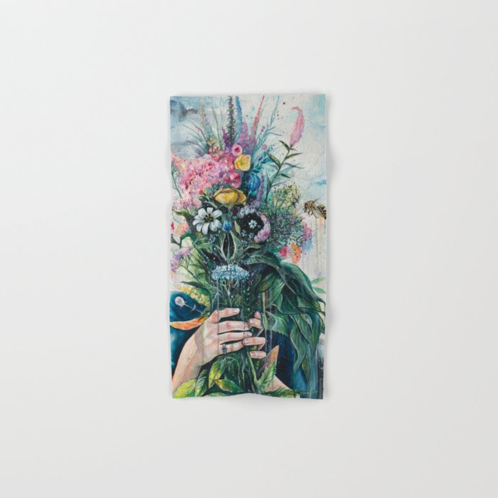 The Last Flowers Hand & Bath Towel