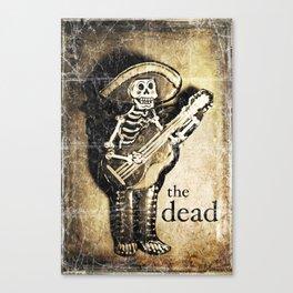 the dead Canvas Print