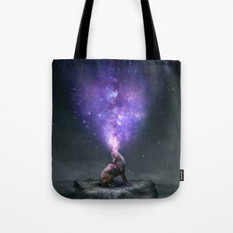 All Things Share the Same Breath Tote Bag