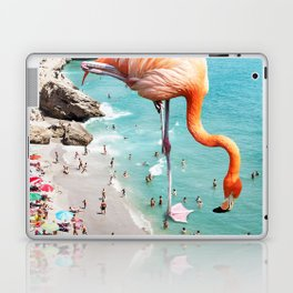 Flamingos on the Beach #society6 #decor #buyart Laptop & iPad Skin