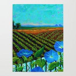 Blue Sky Smiling Poster