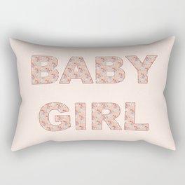 Baby Girl Rectangular Pillow