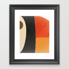 Toucan Macro Framed Art Print