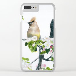 Amongst the Blossoms by Teresa Thompson Clear iPhone Case