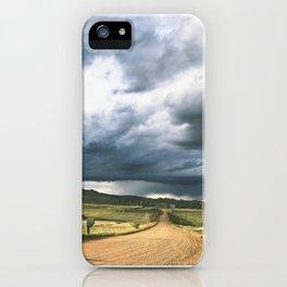 Yin Yang Skies iPhone Case