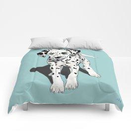 Dalmatian Puppy Comforters