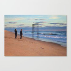 The Shaded Door Canvas Print
