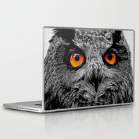 anaconda Laptop & iPad Skins featuring YOU'RE THE ORANGE OF MY EYES by Catspaws