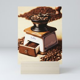 coffee grinder 4 Mini Art Print
