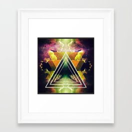 """""""Lost in Space"""" Framed Art Print"""