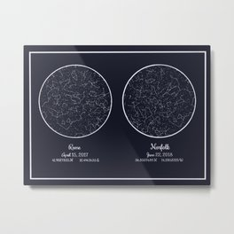 Lovely night Metal Print