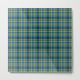 Plaid No. 33 Metal Print