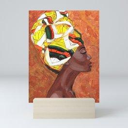 African American Woman Mini Art Print