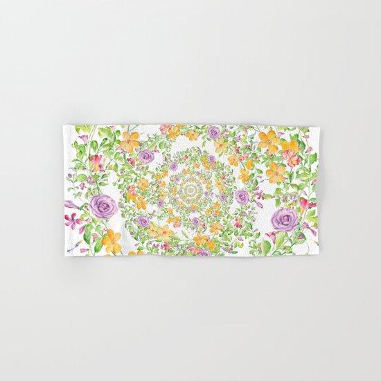 Floral Hypnosis Hand & Bath Towel