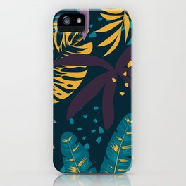 Yellow & Green Graden iPhone Case