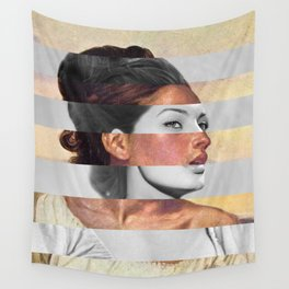 Delacroix's Orphan Girl at the Cemetery & Sophia Loren Wall Tapestry