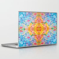 lsd Laptop & iPad Skins featuring LSD Flower by Zeus Design