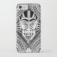 devil iPhone & iPod Cases featuring Devil by Cady Bogart