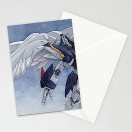Gundam Wing Zero watercolor Stationery Cards