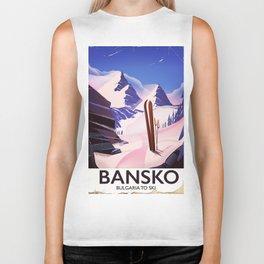 Bansko Bulgaria To Ski Biker Tank