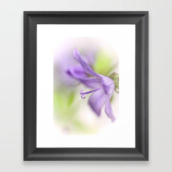 Dreamy flowers... Framed Art Print