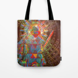 zoraoaster gazes from the 4th dimension Tote Bag