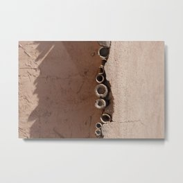 rotated rustic roof Metal Print