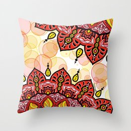 Mandala Amore Throw Pillow