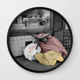 Sleeping Mexican Woman Wall Clock