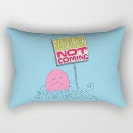 Jellyfish Apocalypse Not Coming Rectangular Pillow