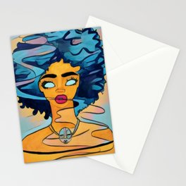 'fro Next Door Stationery Cards
