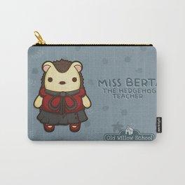 Miss Berta the Hedgehog Teacher Carry-All Pouch