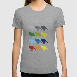 Neon Pop Art Retro Kakapo Bird Gift Idea T-shirt