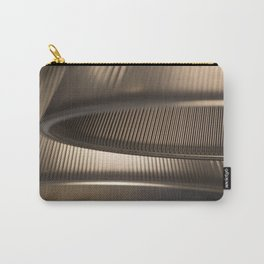 Light Geometry Carry-All Pouch